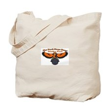 Olathe the Puck stops here Tote Bag