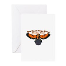 Olathe the Puck stops here Greeting Cards (Package
