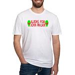 Aliens For John McCain Fitted T-Shirt