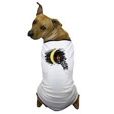 Moonlight Mushing Dog T-Shirt