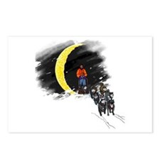 Moonlight Mushing Postcards (Package of 8)