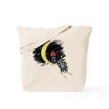 Moonlight Mushing Tote Bag