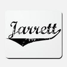 Jarrett Vintage (Black) Mousepad