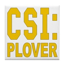 CSI Plover Tile Coaster