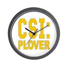 CSI Plover Wall Clock