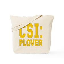 CSI Plover Tote Bag