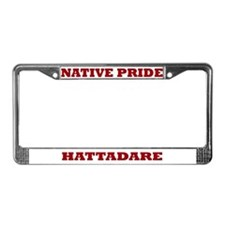 Native Pride Hattadare License Plate Frame