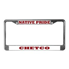 Native Pride Chetco License Plate Frame