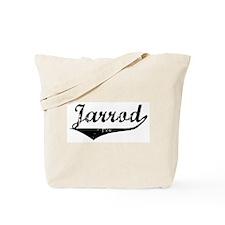 Jarrod Vintage (Black) Tote Bag