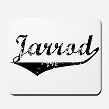 Jarrod Vintage (Black) Mousepad