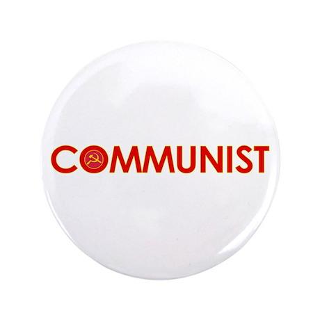 """Communist 3.5"""" Button"""