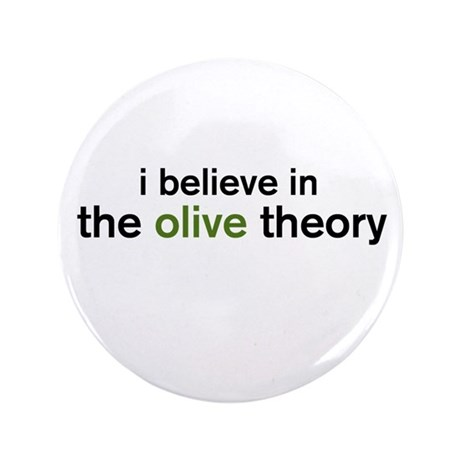 "Olive Theory 3.5"" Button (100 pack)"