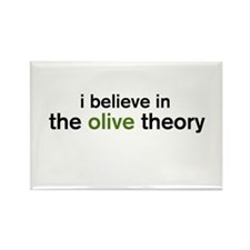 Olive Theory Rectangle Magnet