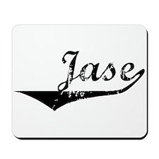 Jase Vintage (Black) Mousepad