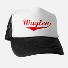 Waylon Vintage (Red) Trucker Hat