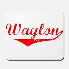 Waylon Vintage (Red) Mousepad