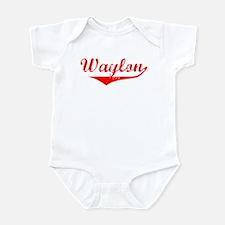 Waylon Vintage (Red) Infant Bodysuit
