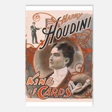 Houdini Performance Poster Postcards (Package of 8