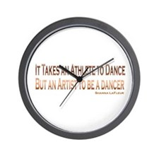 Athlete Artist Dance Wall Clock