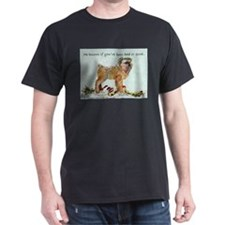 Brussels Griffon Holiday Dog T-Shirt