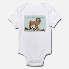 Brussels Griffon Christmas Infant Bodysuit