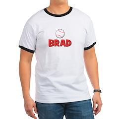 Brad - Baseball Ringer T