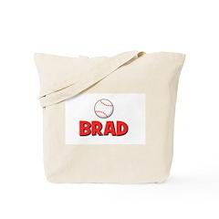 Brad - Baseball Tote Bag