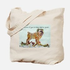 Brussels Griffon Christmas Tote Bag