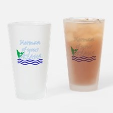 Merman Of Your Dreams (White) Drinking Glass