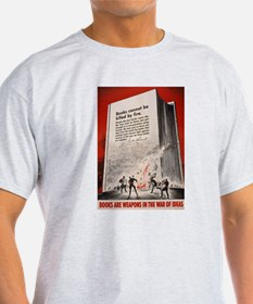 """Books cannot be killed by fi T-Shirt"