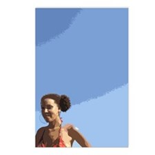 Afro Puffs Postcards (Package of 8)