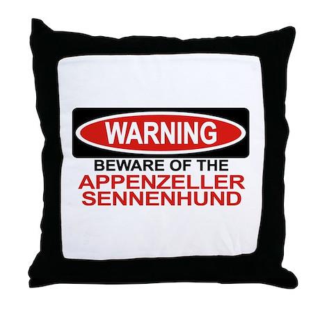 APPENZELLER SENNENHUND Throw Pillow