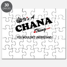 CHANA thing, you wouldn't understand Puzzle