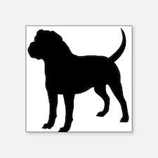 Olde English Bulldogge Silhouette Sticker