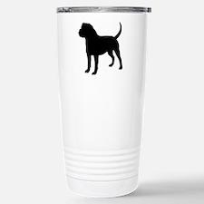 Olde English Bulldogge Silhouette Travel Mug