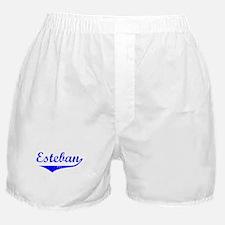 Esteban Vintage (Blue) Boxer Shorts