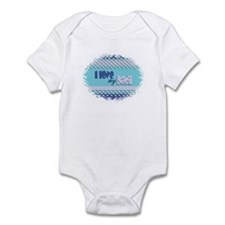 Blue Dadi Infant Bodysuit