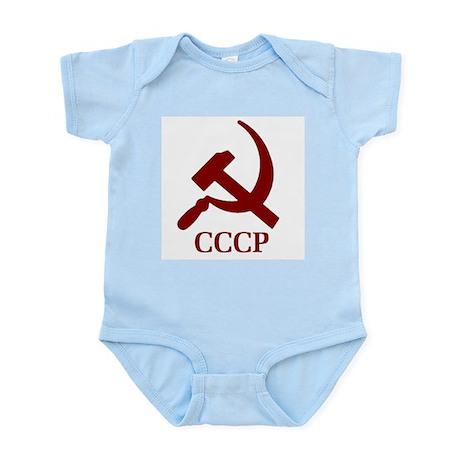 CCCP Hammer & Sickle Infant Creeper