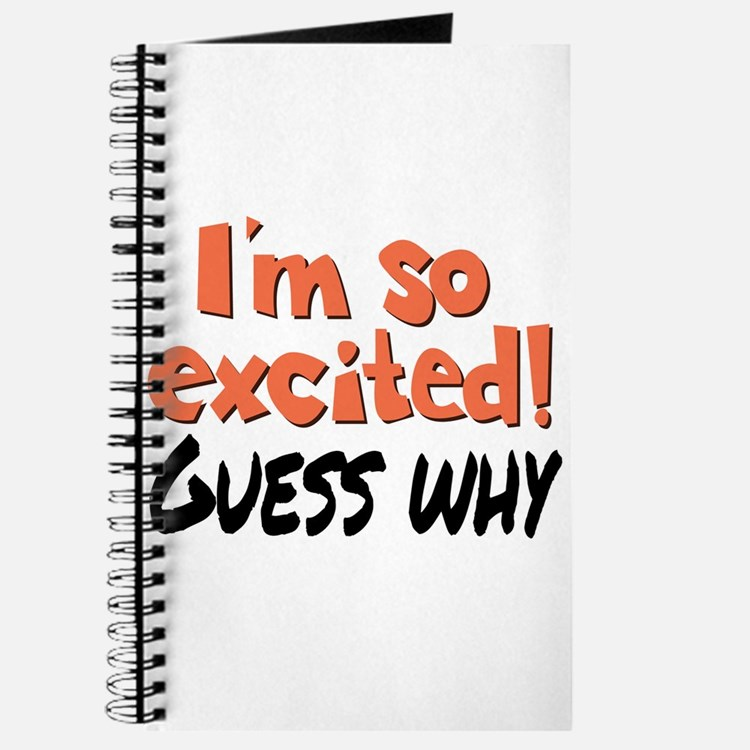 I'm so excited! Journal