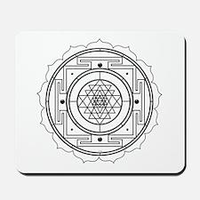 Sri Yantra Design Mousepad