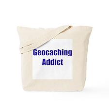 Geocaching Addict Tote Bag
