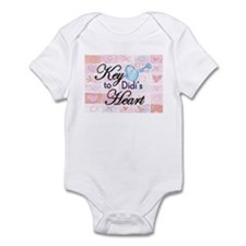 Key to Heart - Didi Infant Bodysuit