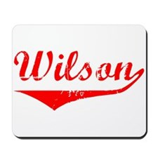 Wilson Vintage (Red) Mousepad