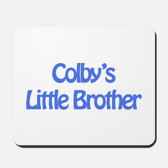 Colby's Little Brother Mousepad