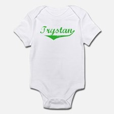 Trystan Vintage (Green) Infant Bodysuit