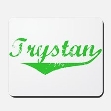 Trystan Vintage (Green) Mousepad
