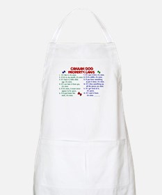 Canaan Dog Property Laws 2 BBQ Apron