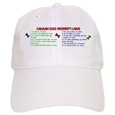 Canaan Dog Property Laws 2 Baseball Cap