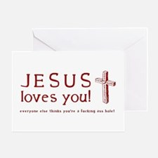 jesus Greeting Cards