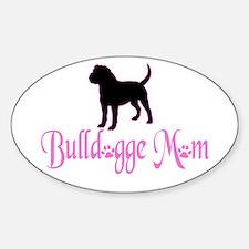 Olde English Bulldogge Mom Decal